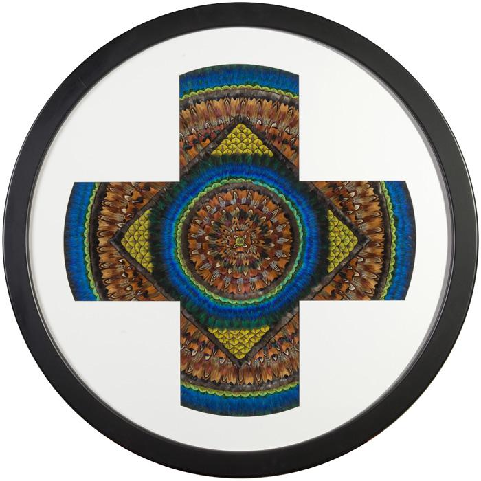 Mandala Positivity Blue
