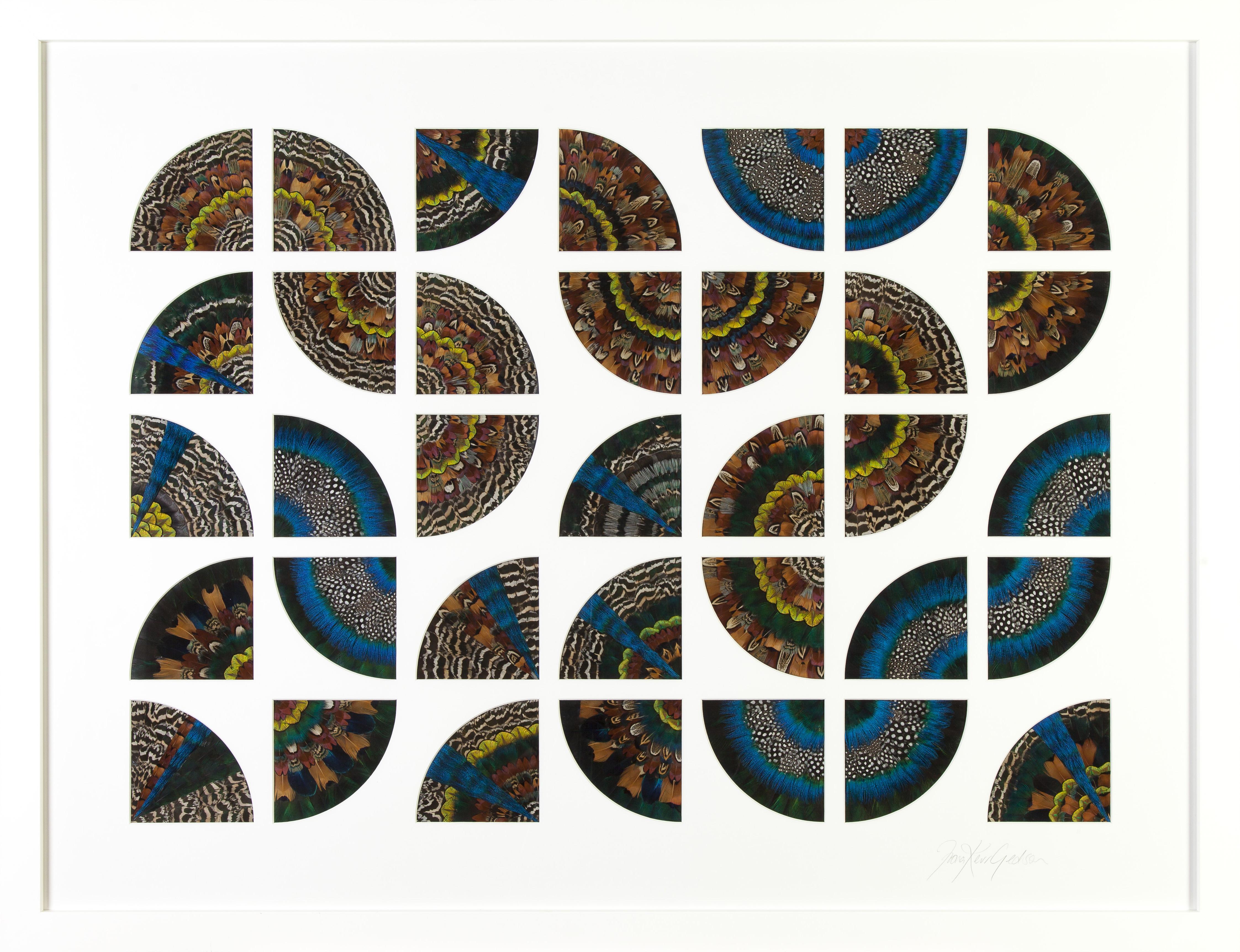 Fiona Kerr Gedson - Maths Mandala 35x.25=8