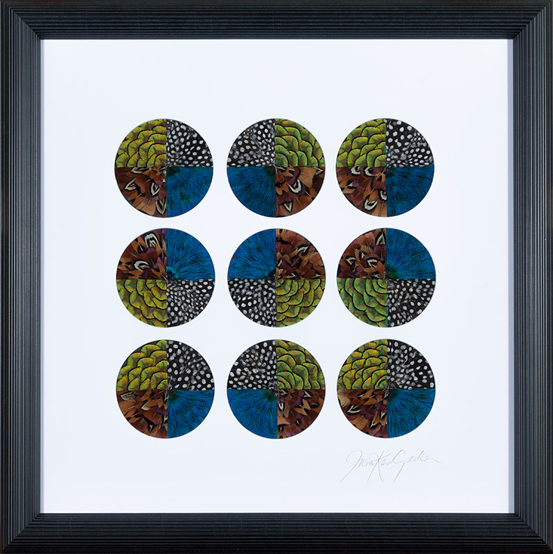Fiona Kerr Gedson - Mandala Squares, Compose Gallery