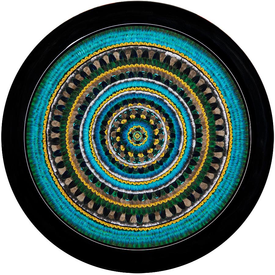©Fiona Kerr Gedson - Peacock Mandala Artbay sm